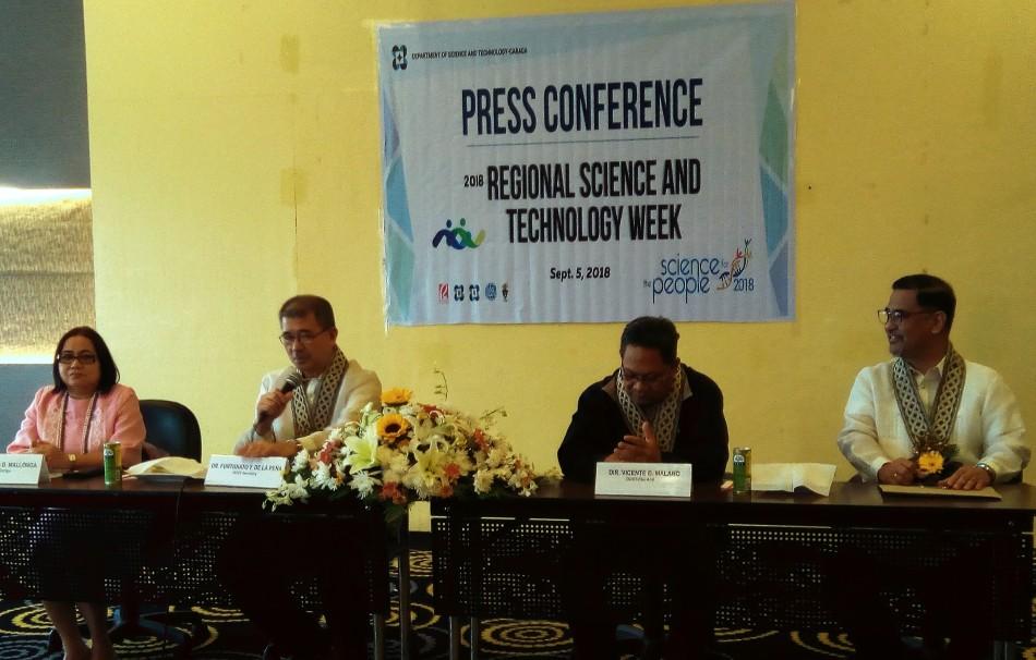DOST CARAGA Press Conference