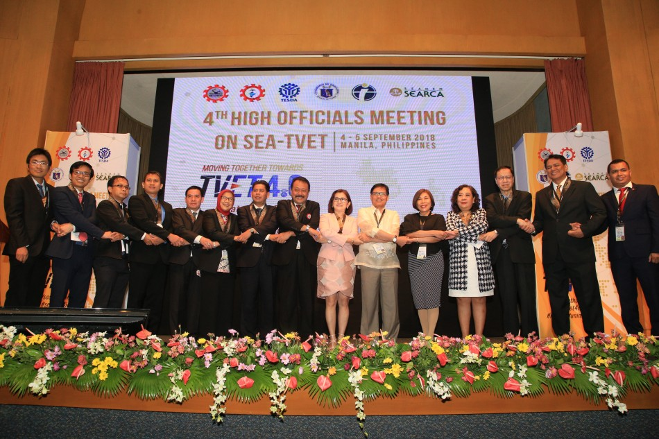 SEA TVET delegates