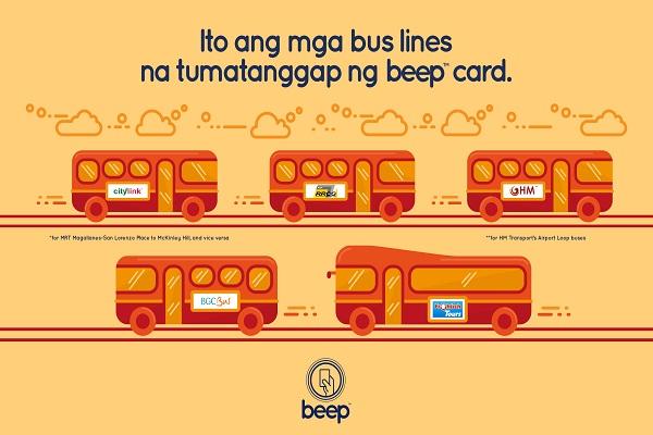 BEEP - BUS ACCEPTANCE 7colx15cm