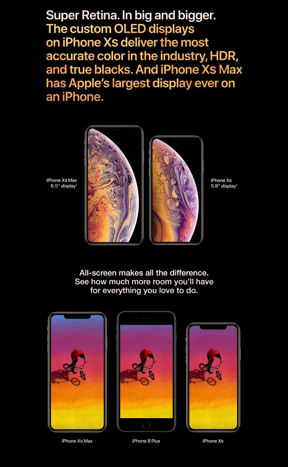 iPhone Xx Max ansd Xs