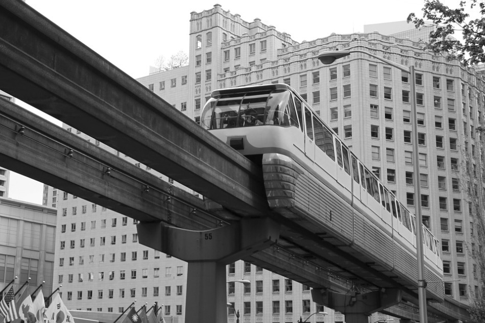 Maglev train from Pixabay