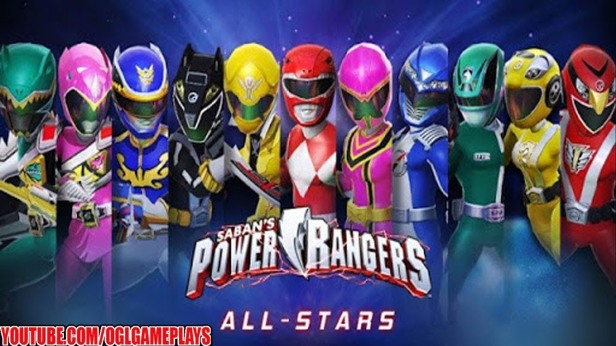 Power Rangers All Star