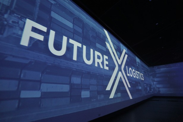 X Logistics logo