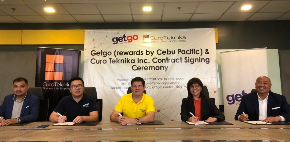 GetGo Cebu Pacific Contract Signing - Science and Digital News
