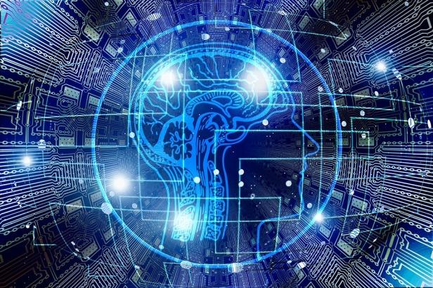 AI Brain on Pixabay