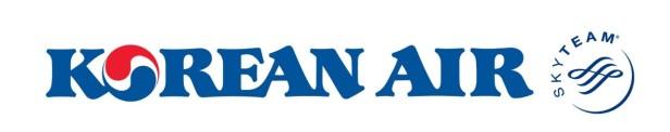 Korean Air logo on Korean Air