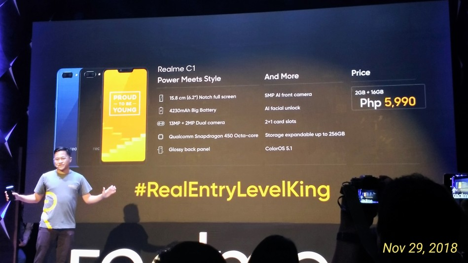 Realme C1 - Science and Digital News