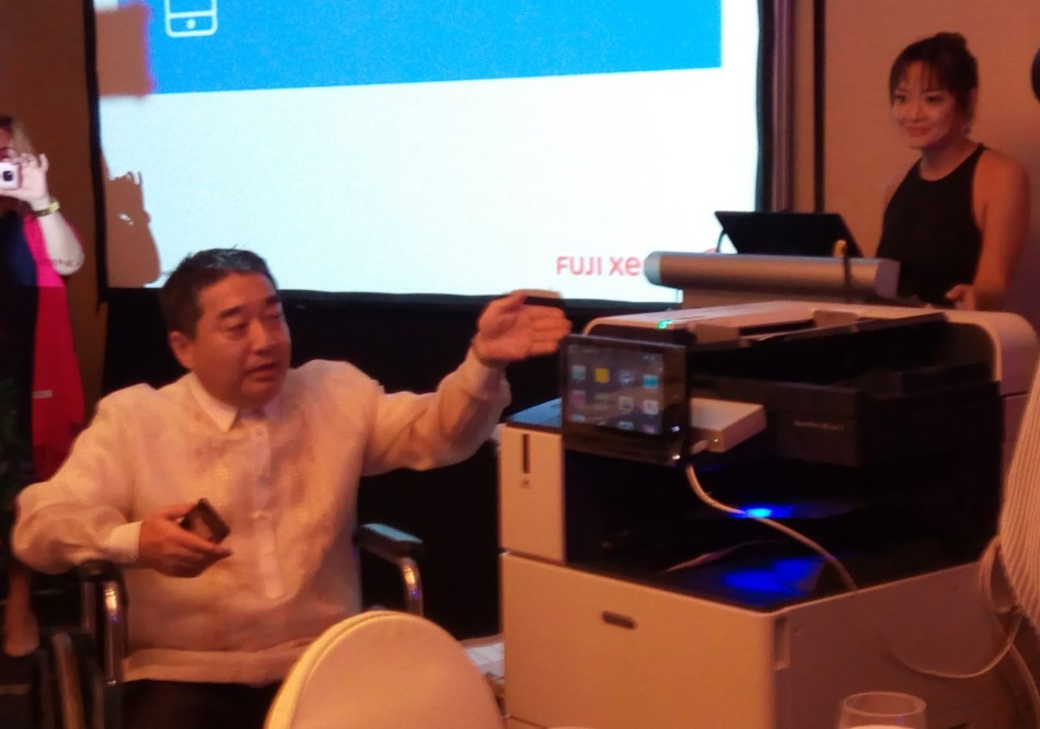 Hideaki Kato, president, Fuji Xerox Philippines - Science and Digital News