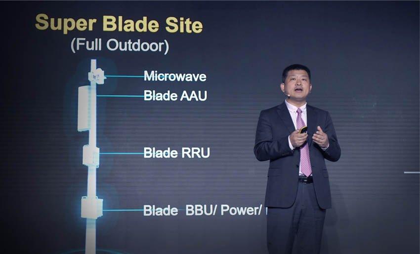 Huawei Peter Zhou is CMO of Huawei Wireless Soluion